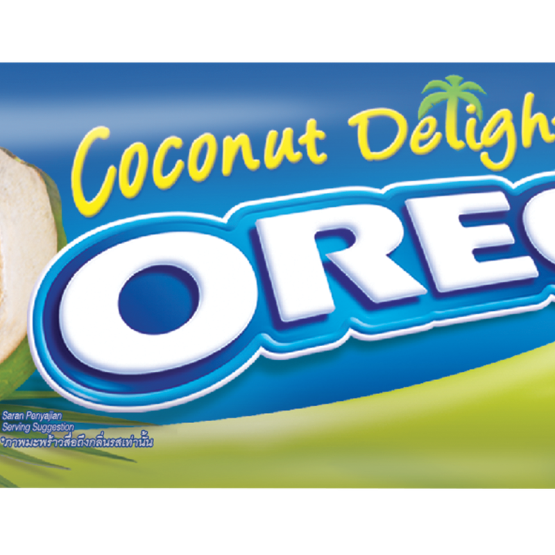 Oreo Coconut Delight - Oreo Coconut Cream Sandwich Cookies (imported), 137g Transparent PNG Resolution 800x800 - Free Download