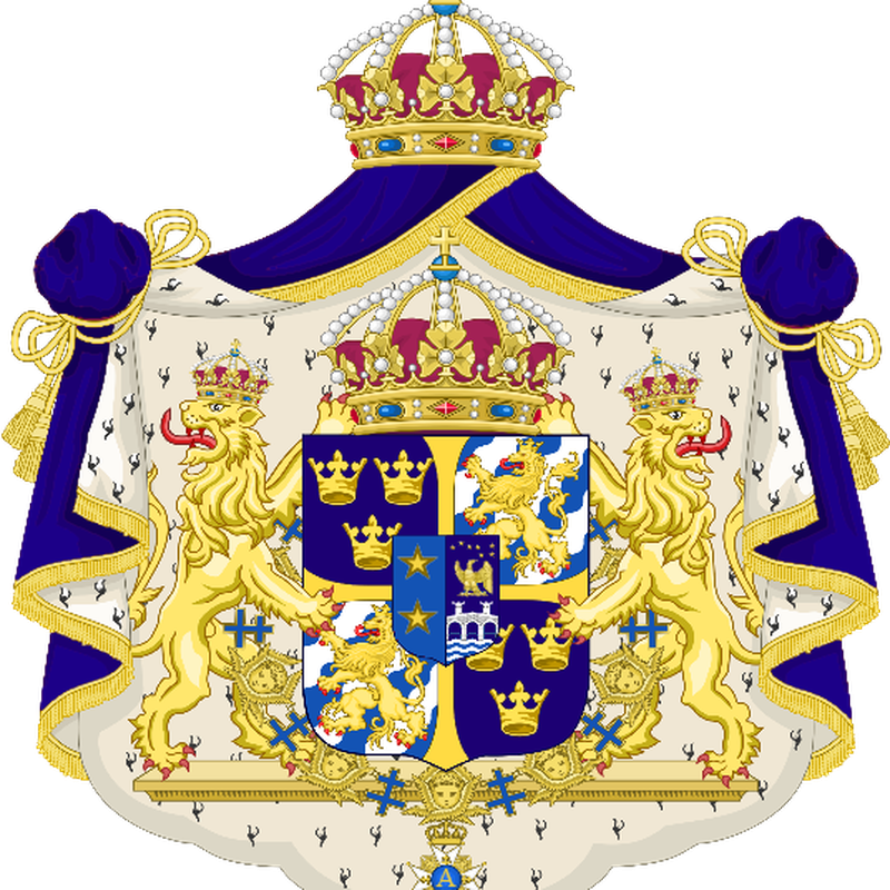 His Majesty, King Teutonis Ii Of The Escari Imperial - Coat Of Arms Sweden Png Transparent PNG Resolution 800x800 - Free Download