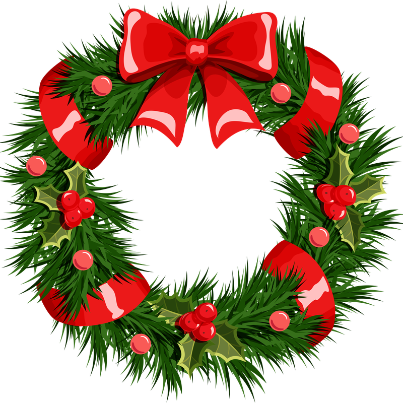 Christmas Wreath Png Transparent PNG Resolution 800x800 - Free Download